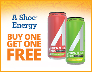 A-Shoc Energy BOGO