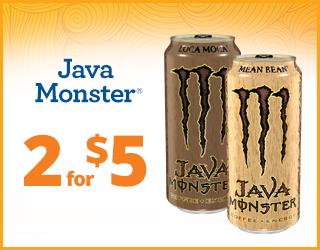 Java Monster 2 for $5