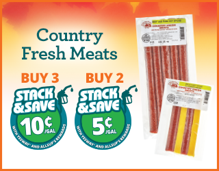 Country Fresh Meats - Buy 3, Save 10¢;Buy 2, Save 5¢