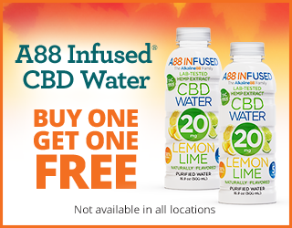 A88 Infused CBD Water - BOGO