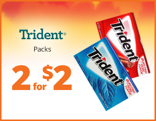 Trident - 2 for $2