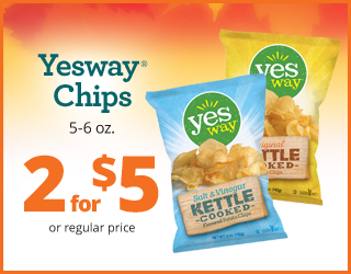 Yesway Chips 5-6oz - 2 for $5